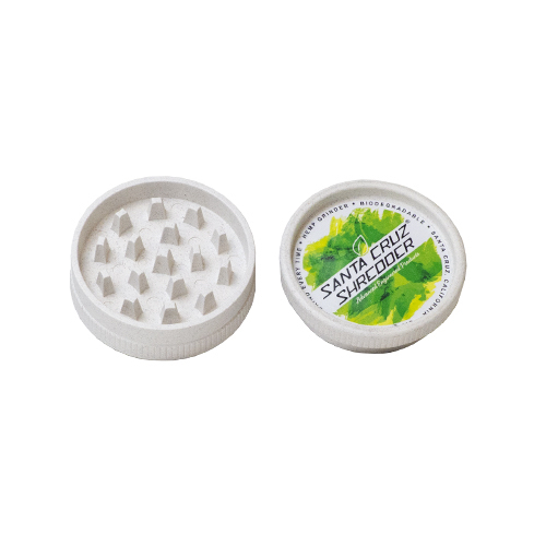 Santa Cruz Shredder Hemp ECO Grinder Medium 2 Piece eco grinder, hemp grinder, mini shredder, mini grinder, small grinder, santa cruz, santa cruz shredder, shredder, grinder, sc shredder, grinders, 4 pc grinder, 4 peice grinder, medium grinder, medium shredder, pollen catcher, santa cruz grinder